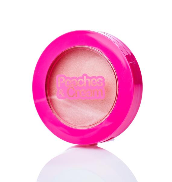 Peaches & Cream Halo Highlighting Powder