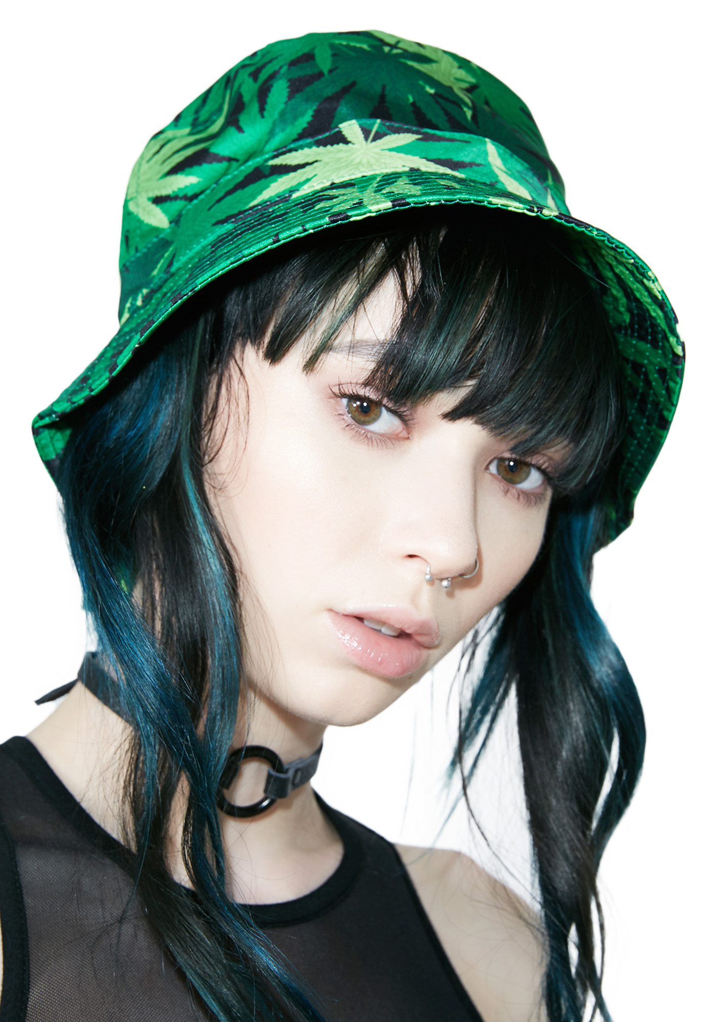 Cannabis Toke Time Bucket Hat