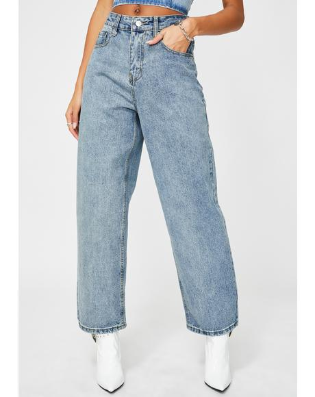 Talk Is Cheap Denim Jeans