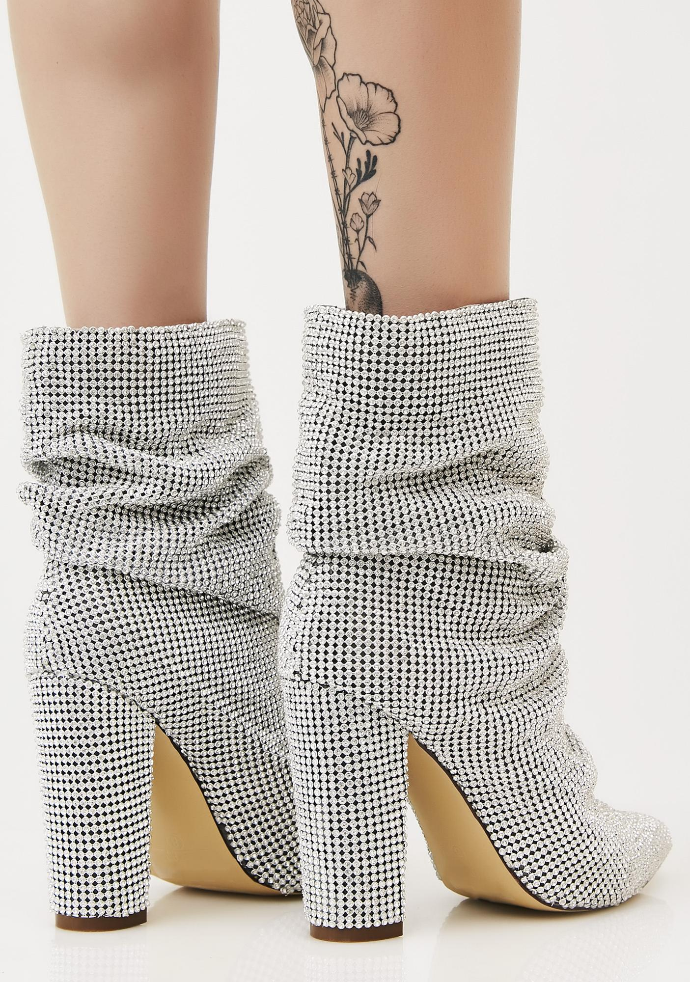Go Glitter Slouch Boots