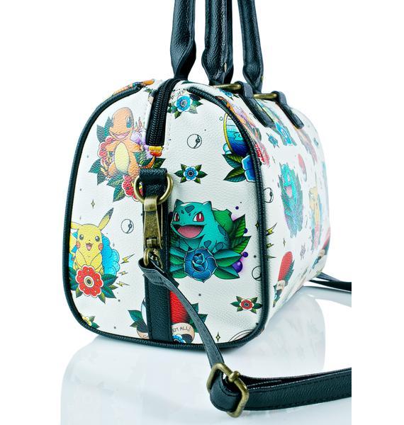 Loungefly X Pokémon Tattoo Flash Duffle Bag
