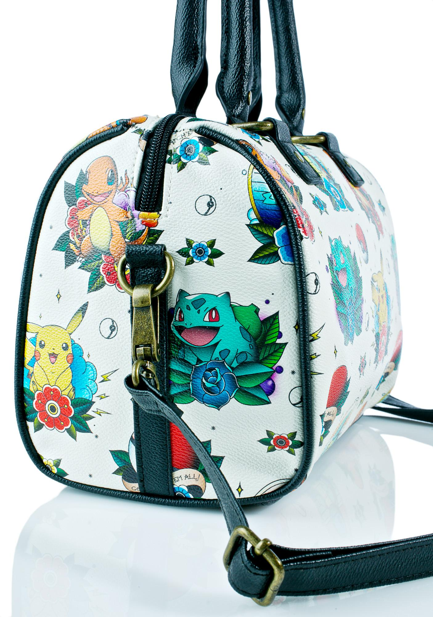 ... Loungefly X Pokémon Tattoo Flash Duffle Bag ... 8a8410aeba771