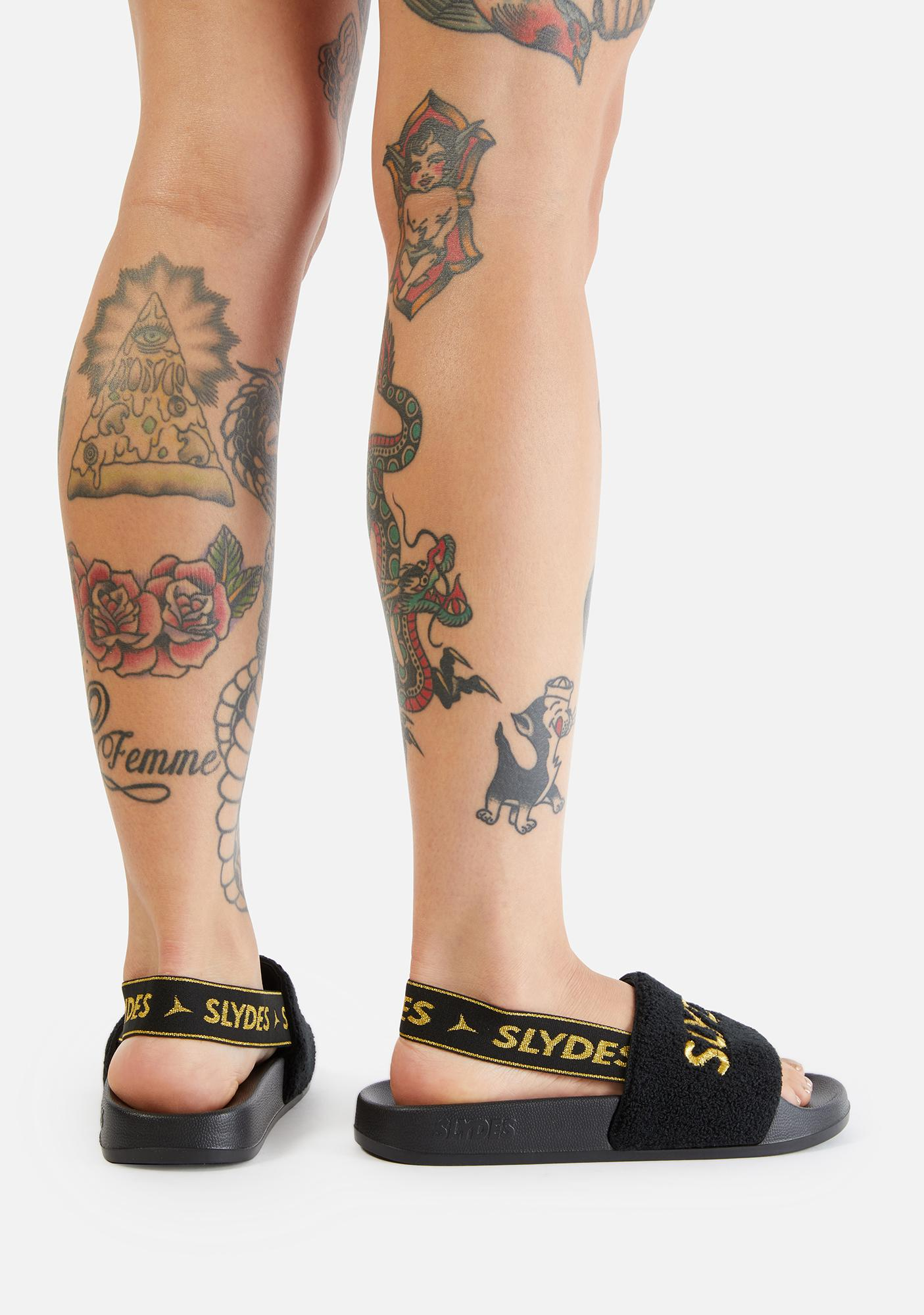 SLYDES Coin Slide Sandals