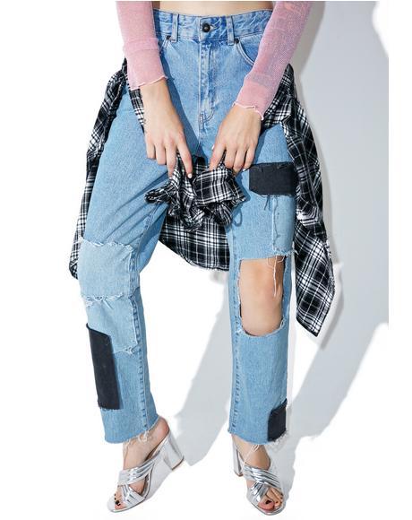 Breezy Mom Jeans