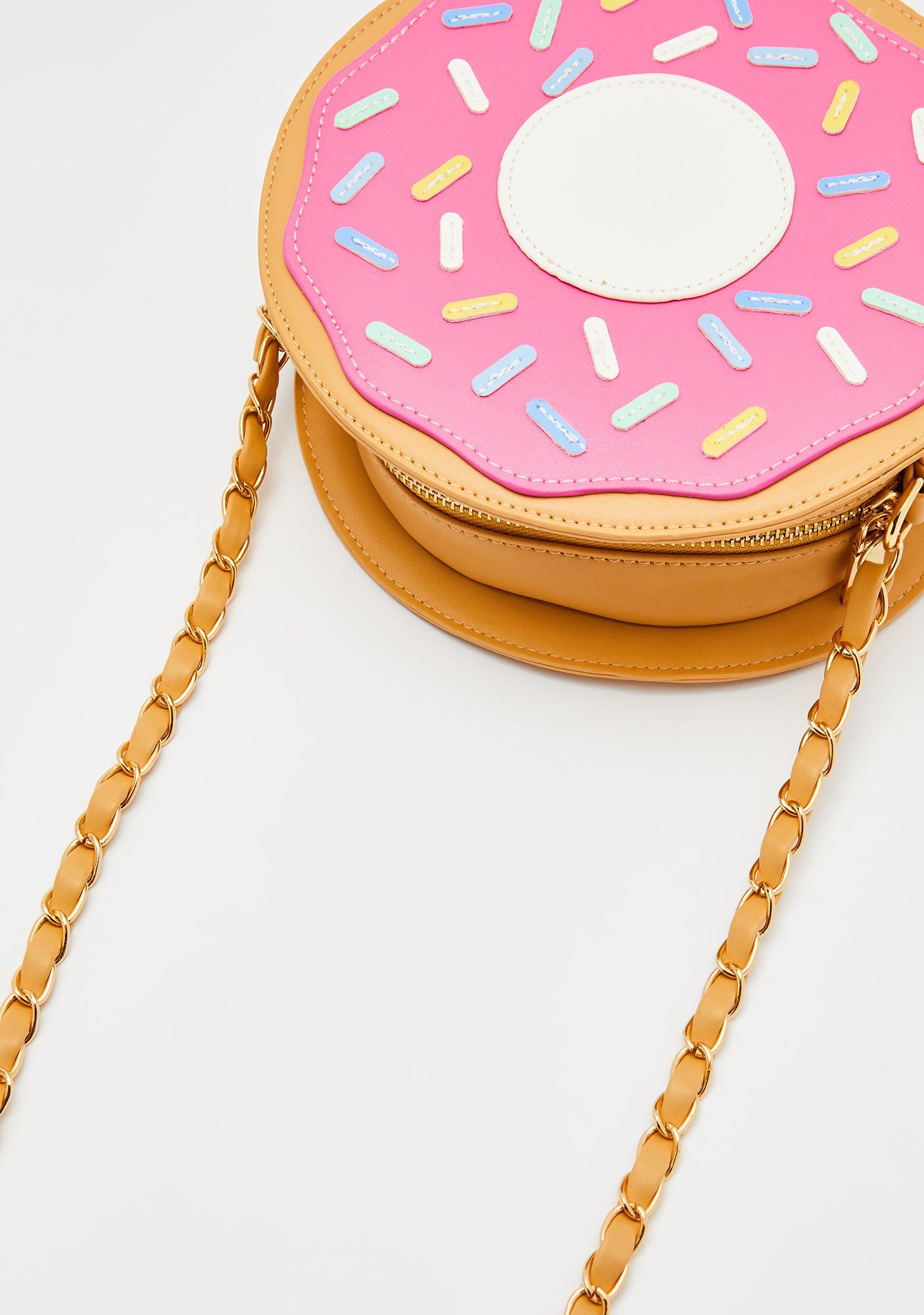 Sugar Glazed Doughnut Purse