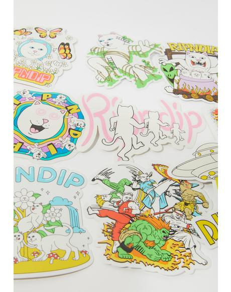 Holiday '20 Sticker Pack
