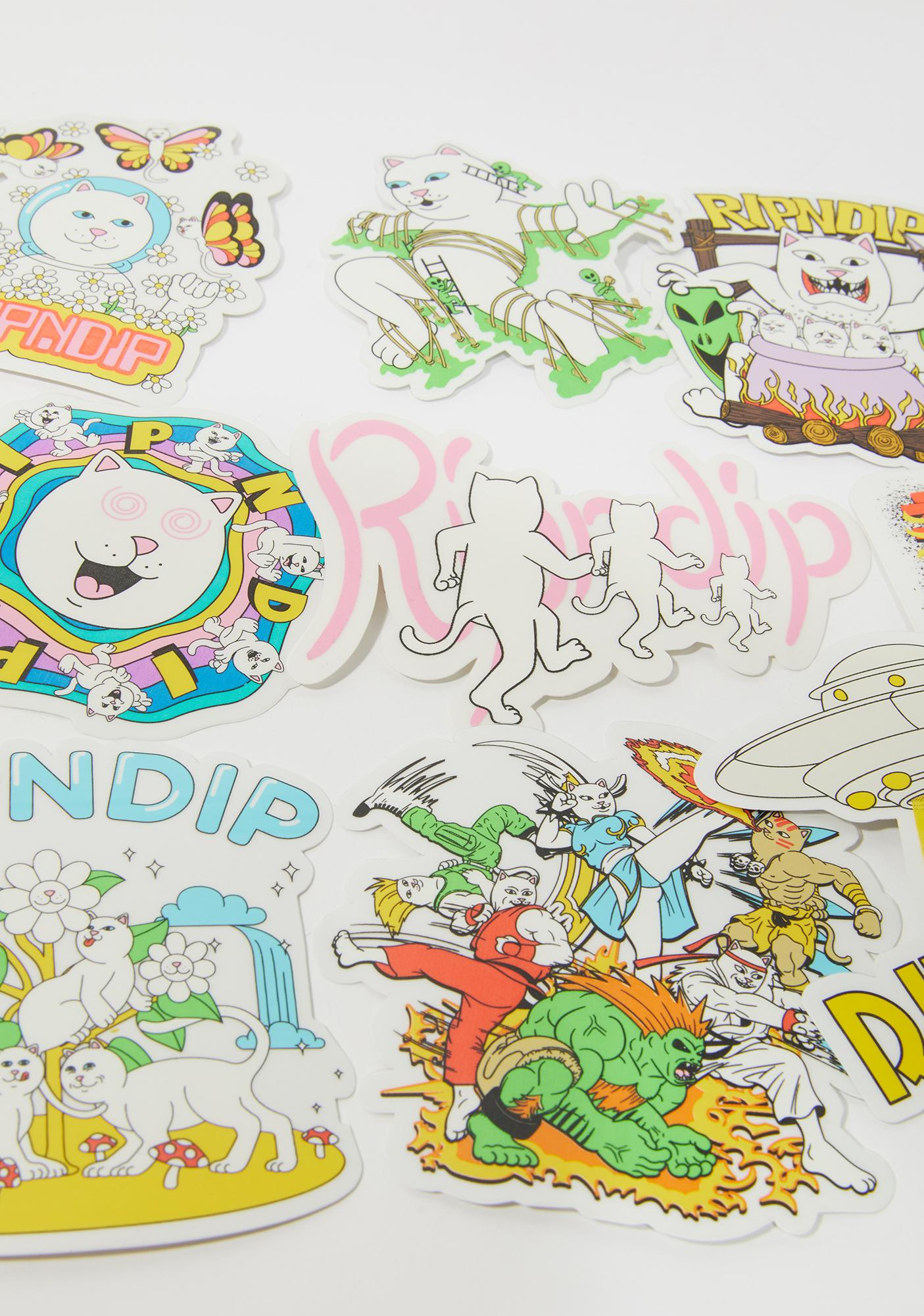 RIPNDIP Holiday '20 Sticker Pack