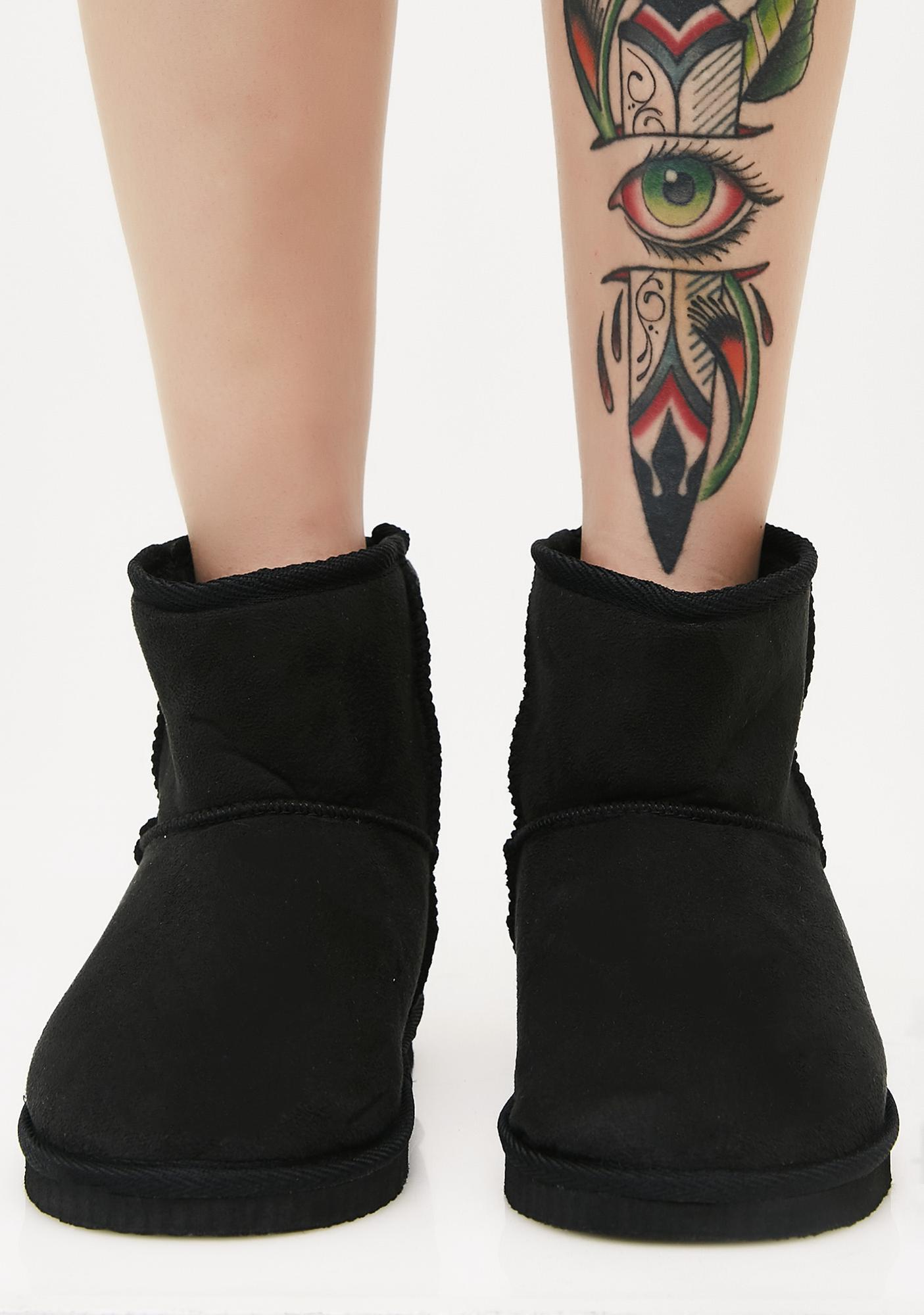 Too Comfy Slipper Boots