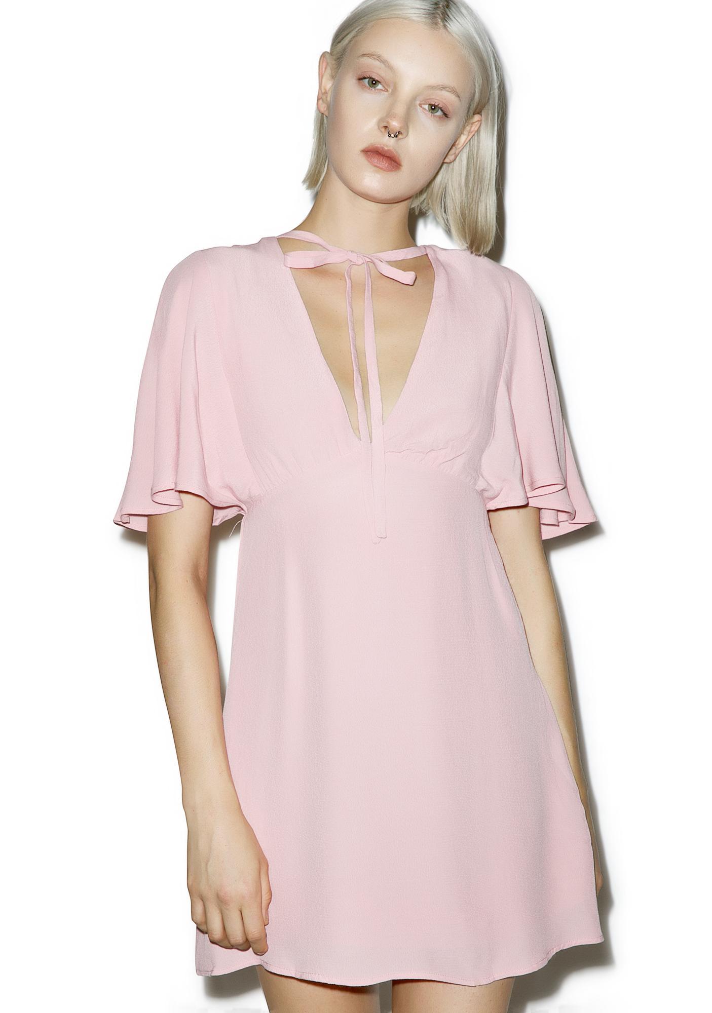 At First Glance Blush Dress