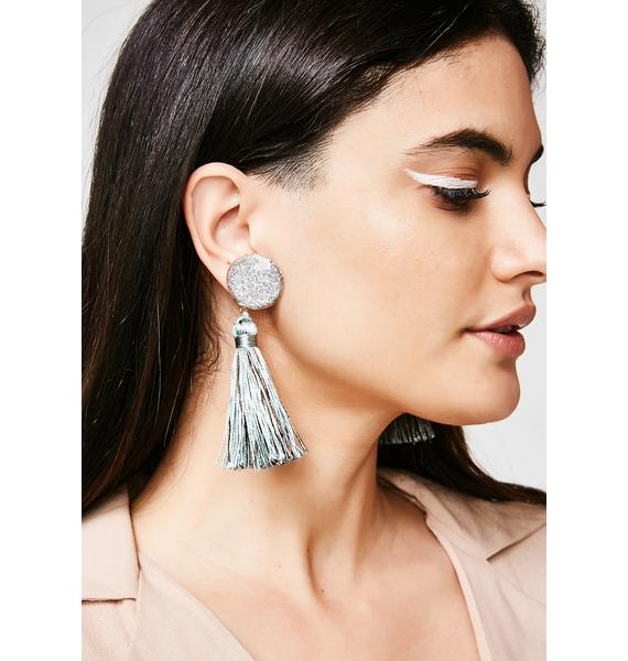 Make An Entrance Tassel Earrings