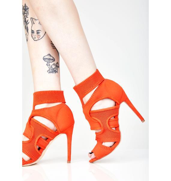 I Like You Cutout Heels