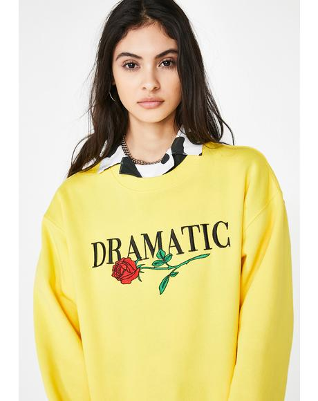 Dramatic Graphic Sweatshirt