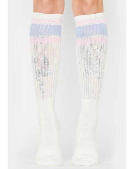 Rugby Knee High Socks
