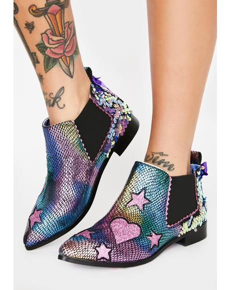 Starlight Empress Ankle Boots