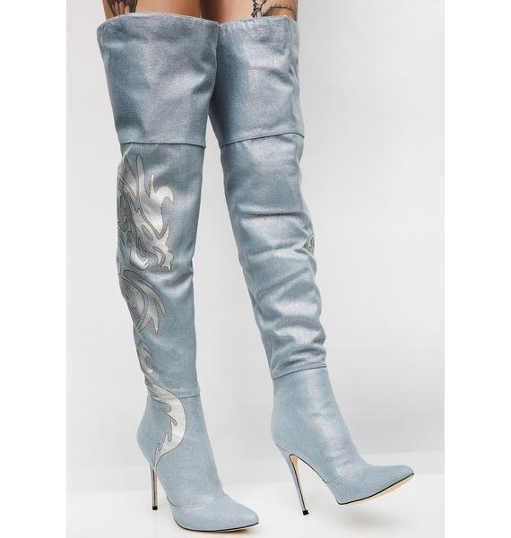Dragon Tamer Thigh High Boots