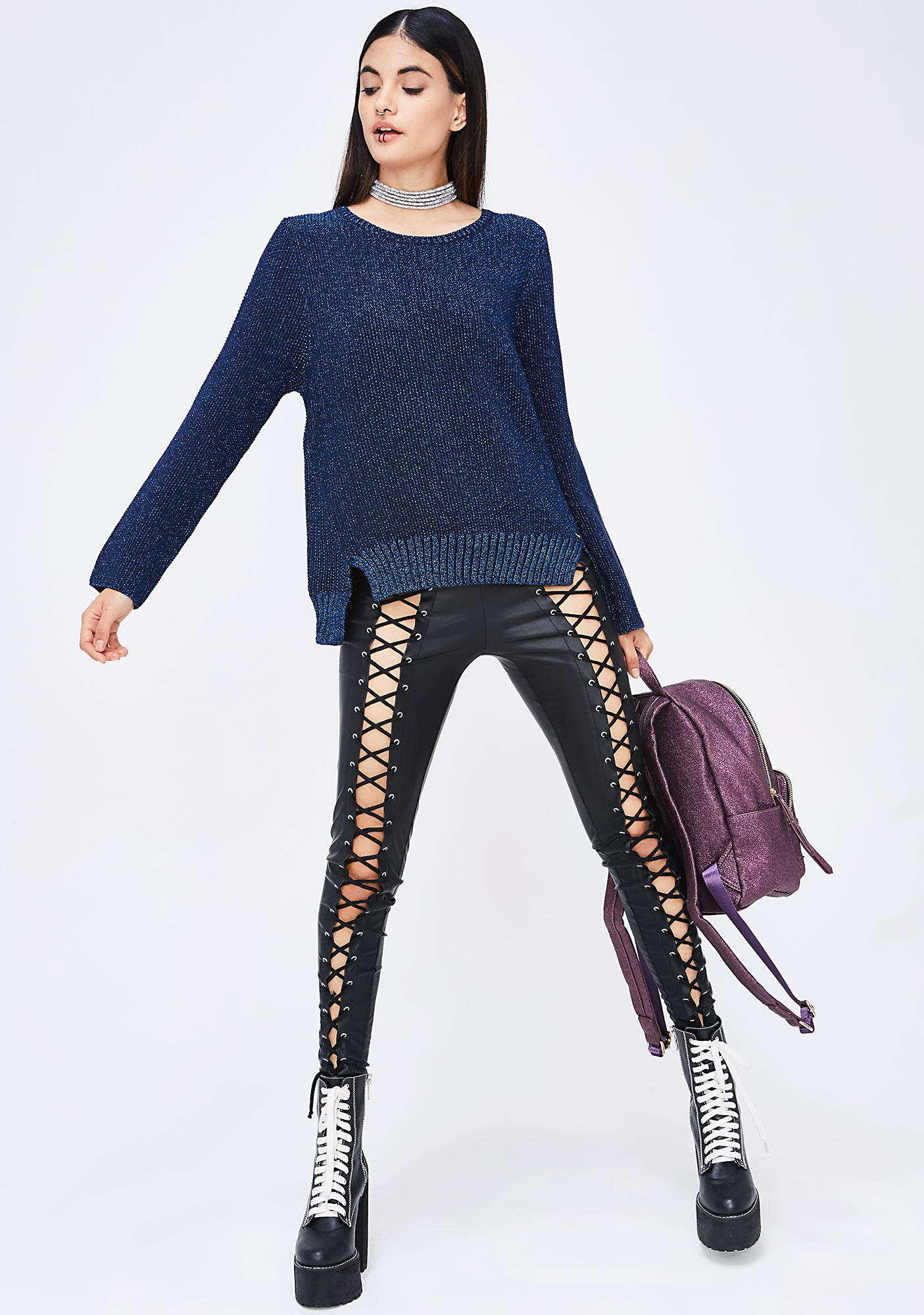 Warm Feelings Sparkly Sweater