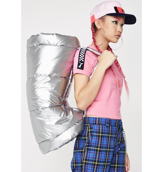 PUMA FENTY PUMA by Rihanna Padded Barrel Bag