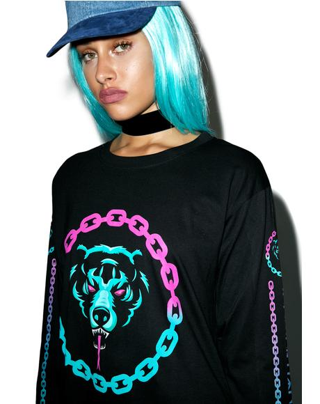 Mishka 2.0 Death Adder Chain Long Sleeve TShirt