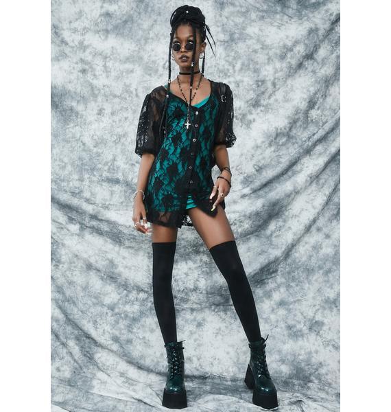 dELiA*s by Dolls Kill Toil And Trouble Mini Dress