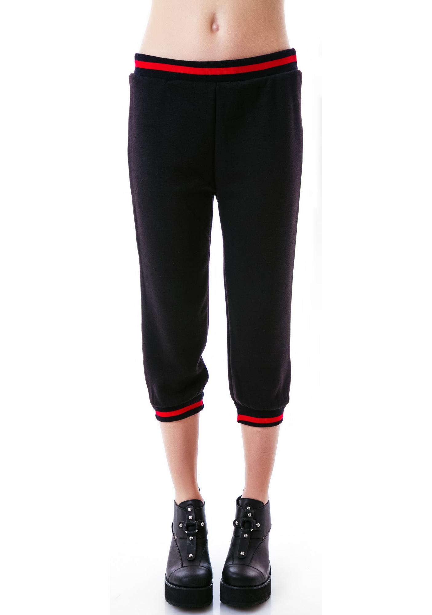 Sourpuss Clothing Rosie Fleece Capris