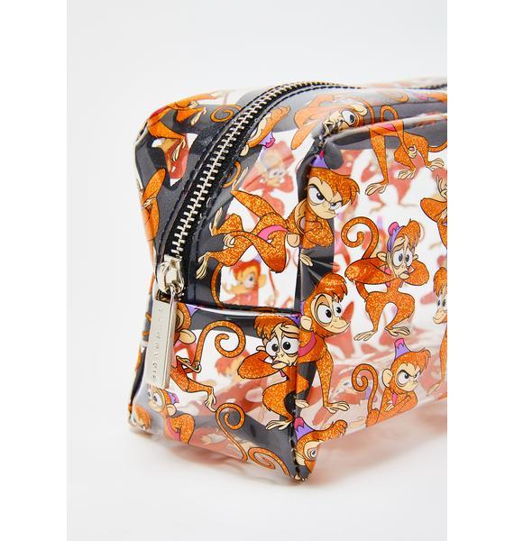 Skinnydip x Disney Glitter Abu Makeup Bag
