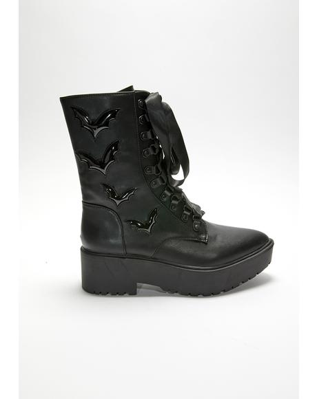 Night Stalker Bat Boots