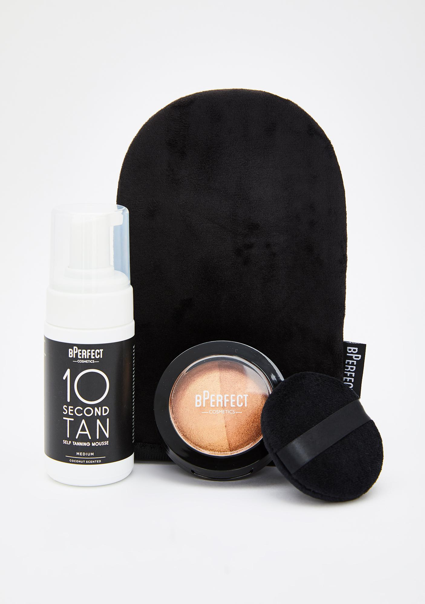 BPERFECT Glow With The Go Tanning Travel Kit