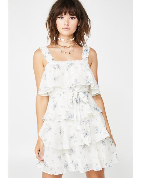Spring Essential Ruffle Dress