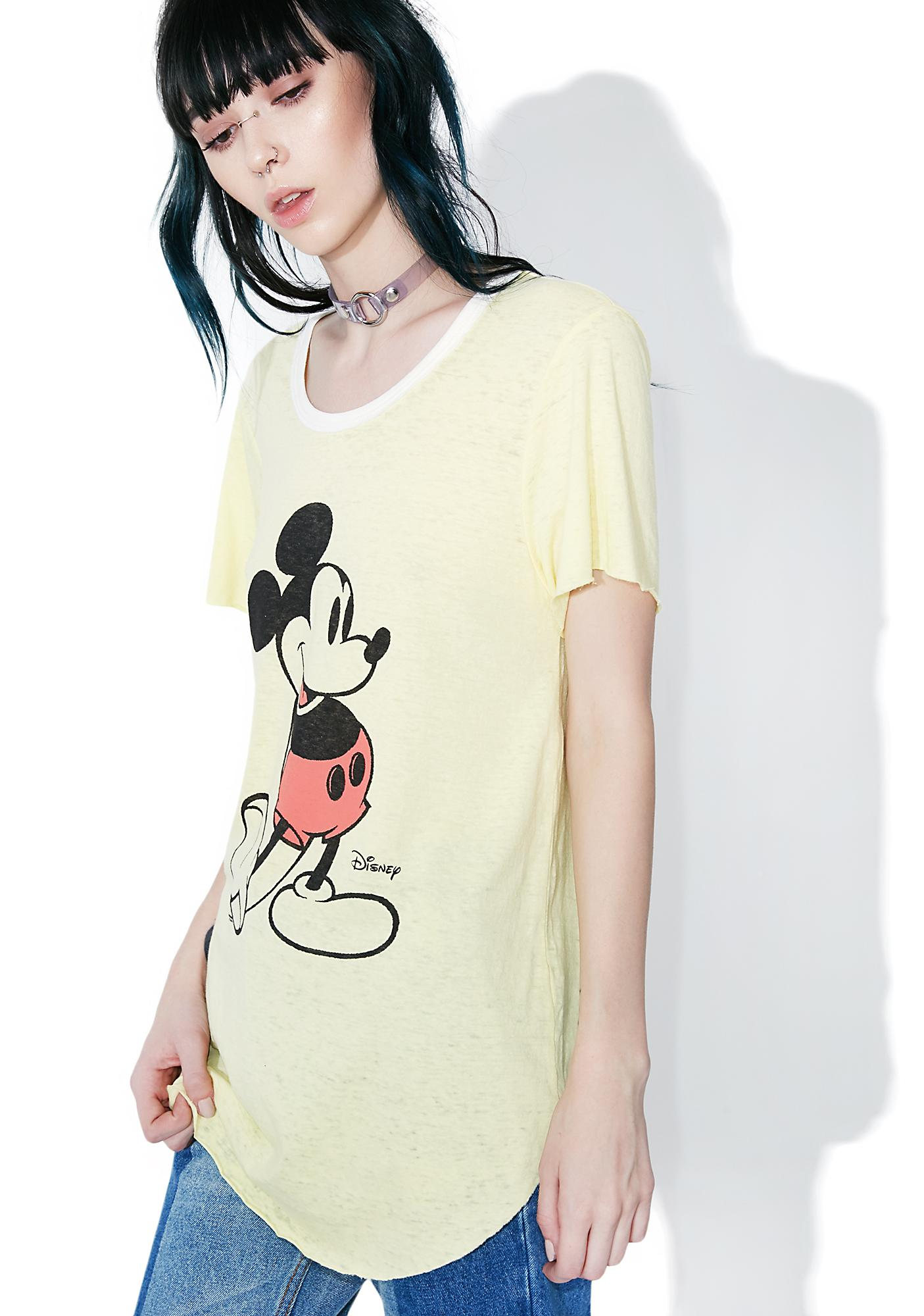Junk Food Clothing Old School Mickey Mouse Tee