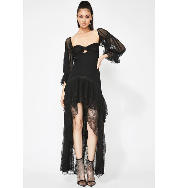 Kiki Riki How Dramatic Tulle Maxi Dress
