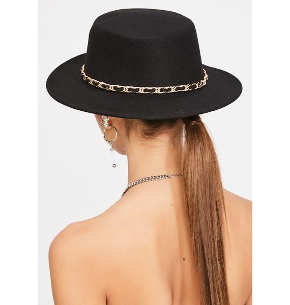 Hit It Off Wide Brim Hat