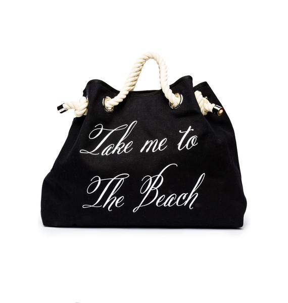 Wildfox Couture Take Me On Vacation Copa Club Beach Bag
