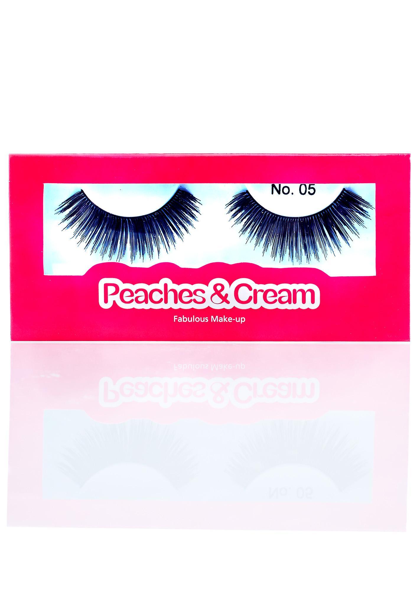 Peaches & Cream No. 5 False Lashes