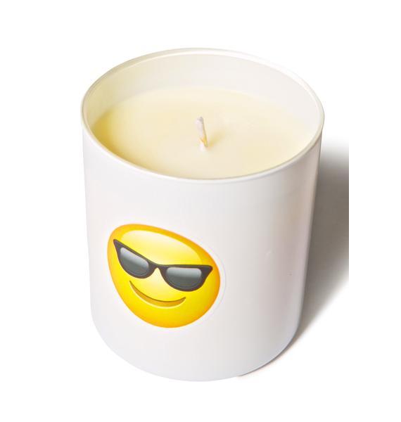 Wick[ed]  Badass Emoji Candle