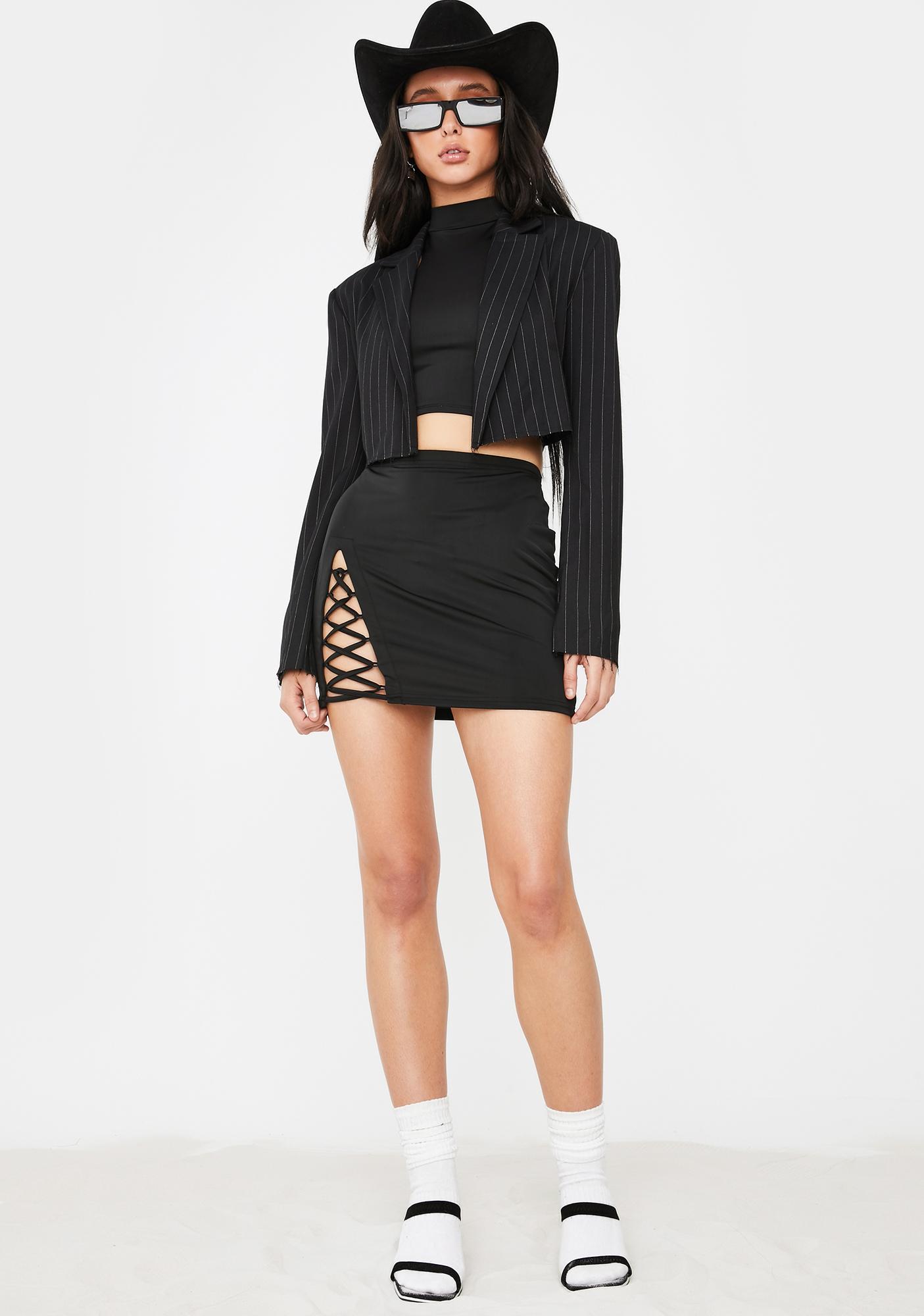 Poster Grl Likes On Likes Mini Skirt