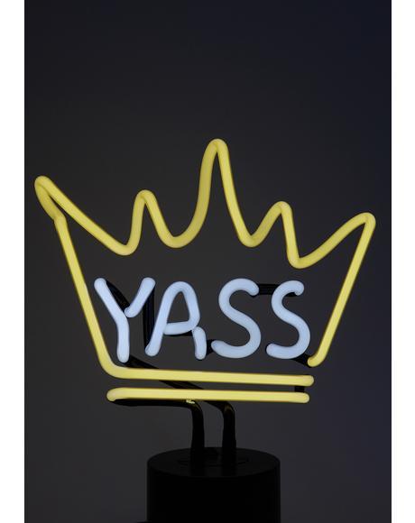Yass Neon Desk Light