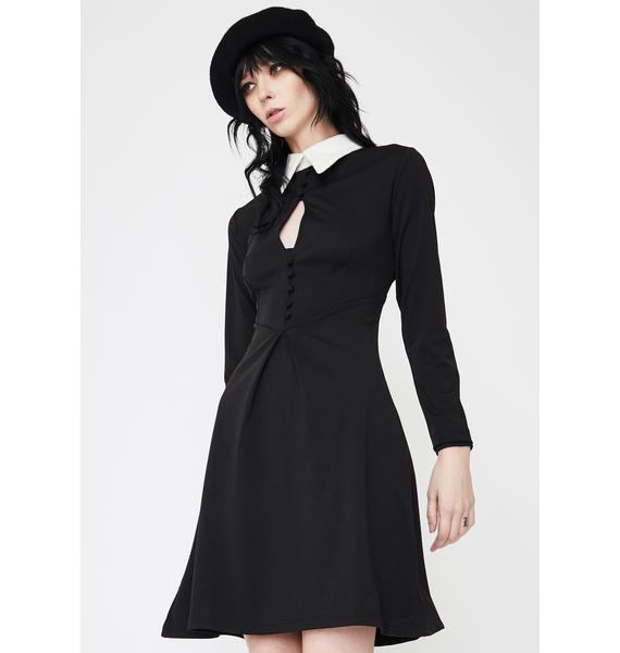 Disturbia Wednesday Shirt Dress