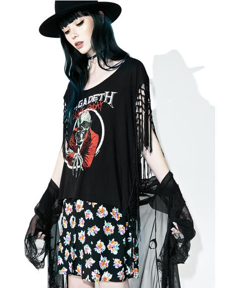 Blood Bath Fringe Tee