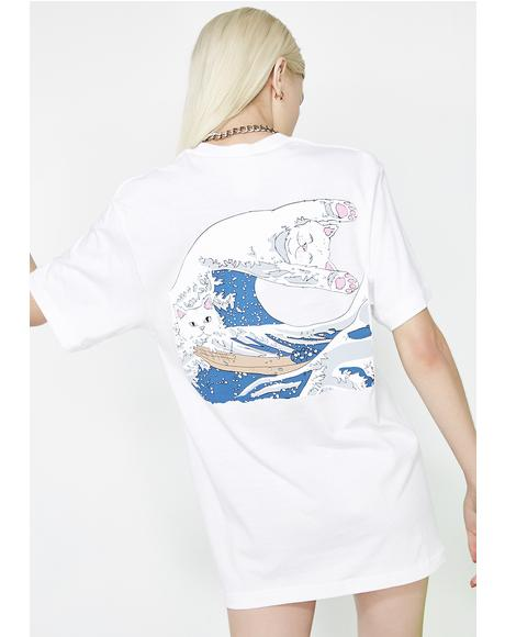 Pure Great Wave Tee