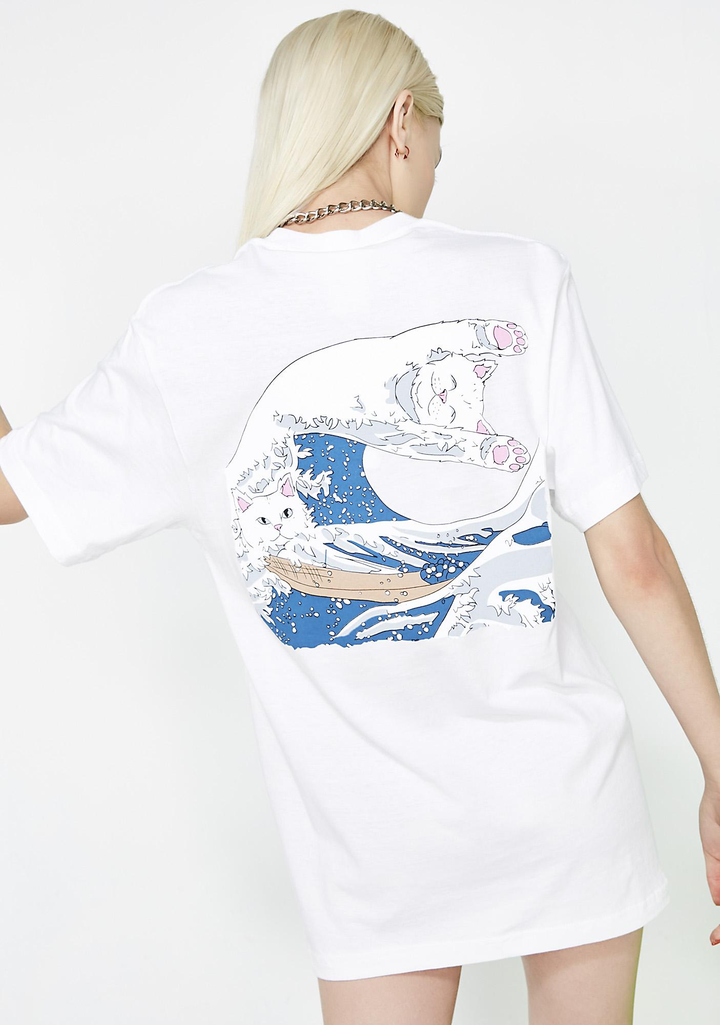 RIPNDIP Pure Great Wave Tee