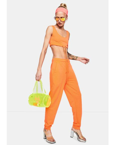 Sunset Fairy Flurry Sweatpants Set