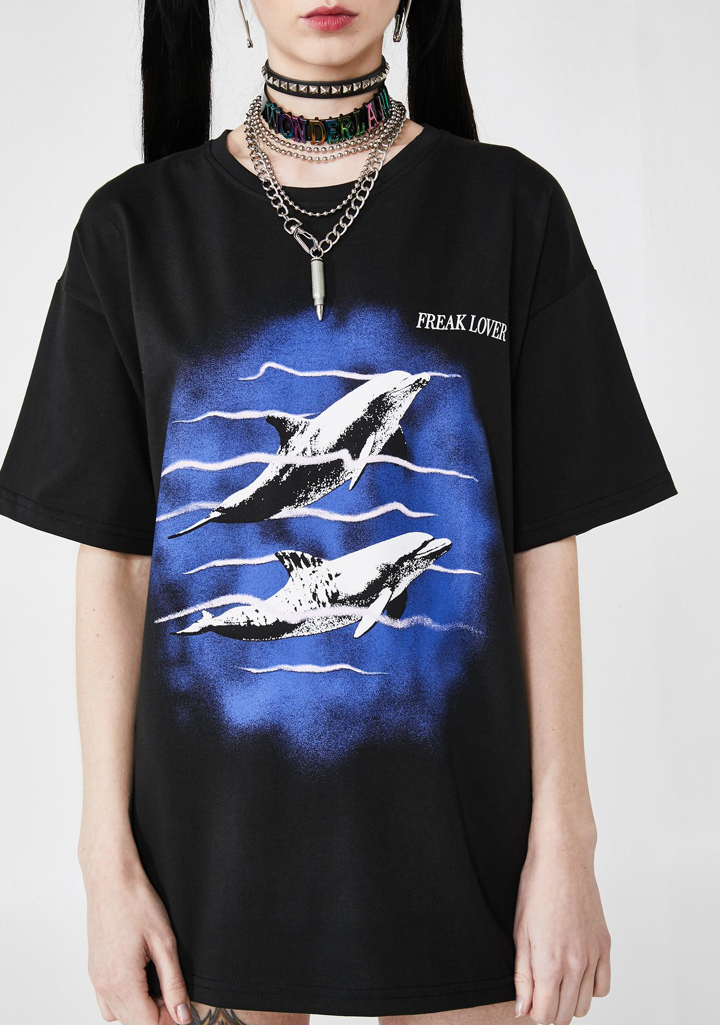 Local Heroes Dolphins Love Tee