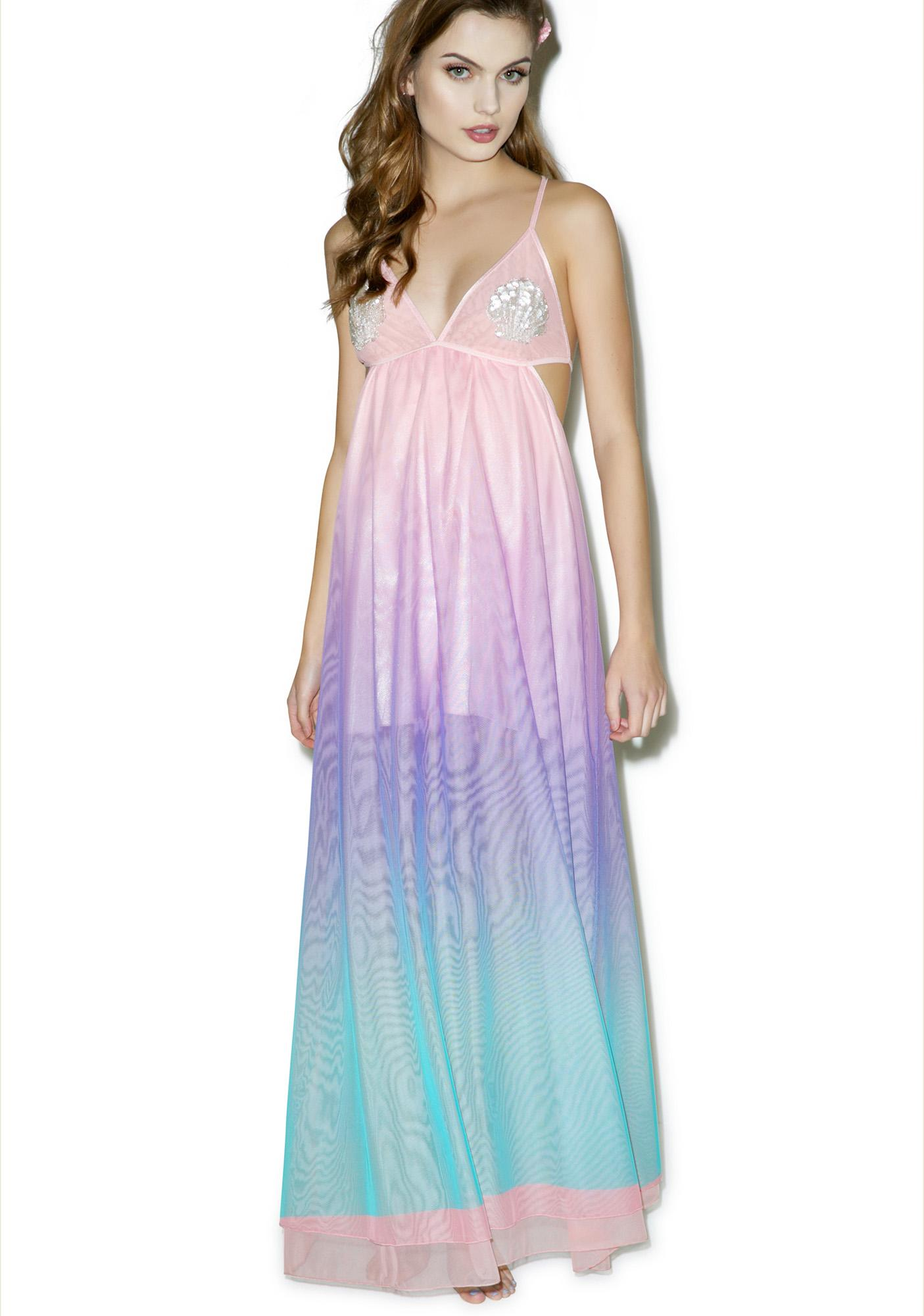 Sugar Thrillz Seamaid Maxi Dress