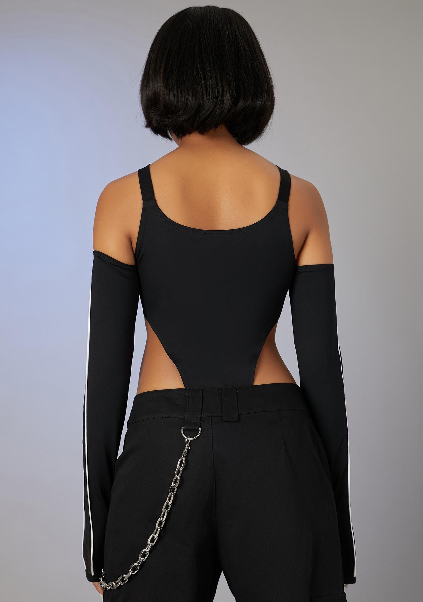 Poster Grl Jetsetter Diva Cut-Out Bodysuit