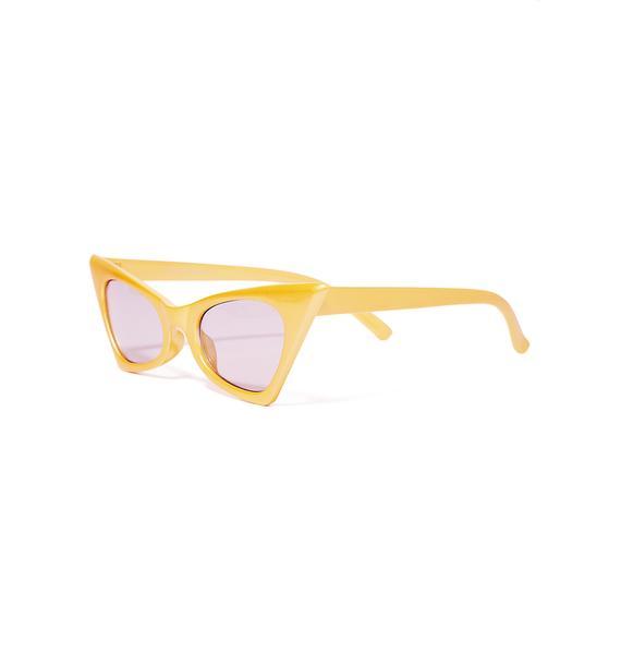 The Cobra Snake Electro Foxy Sunglasses