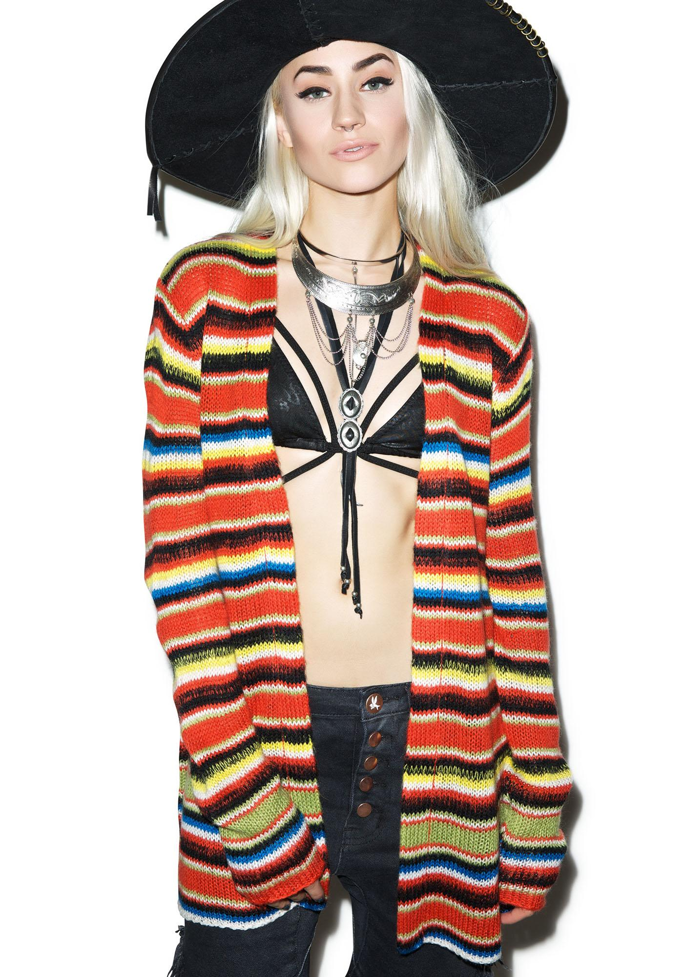 Wildfox Couture Mexican Blanket Cardigan