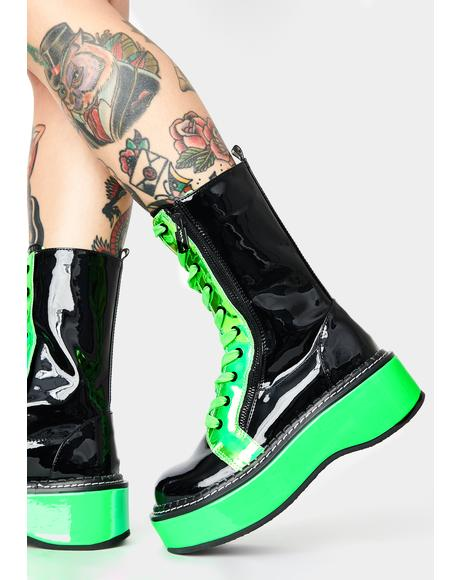 Slime Electric Fusion UV Platform Boots