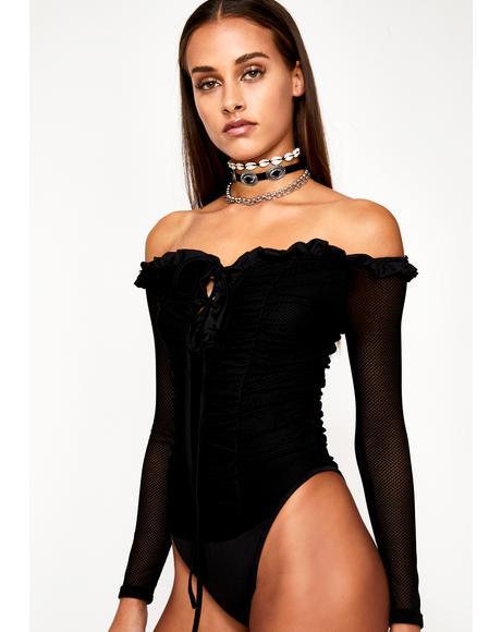 Flirt Bandit Ruched Bodysuit