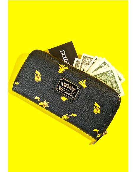X Pok�mon Pikachu Print Wallet