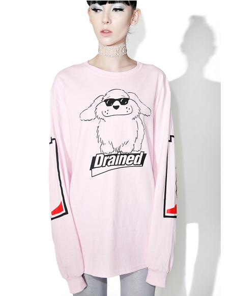 Drained Long Sleeve Tee